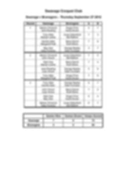 Swanage v Bransgore Match September 27 2