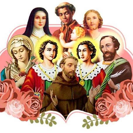 A relação de fé com os santos católicos