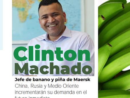 Clinton Machado: Jefe de banano y piña de Maersk.