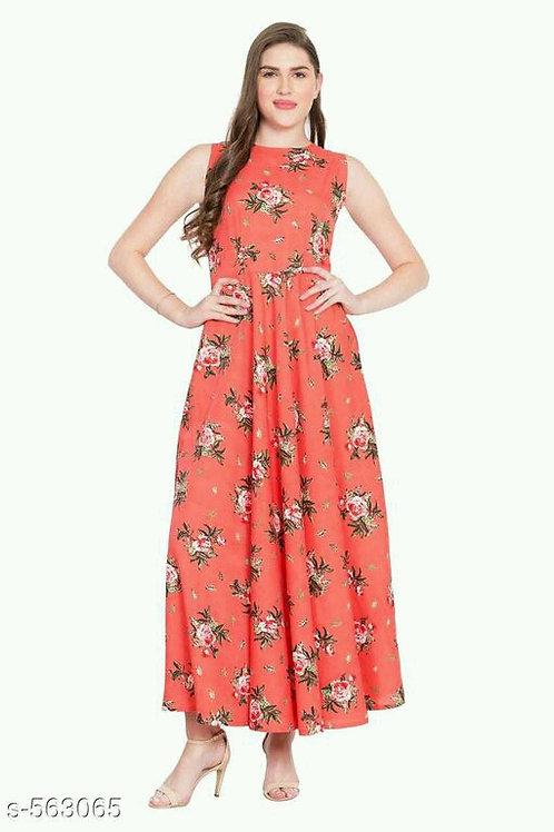 Ariana Elegant Crepe Dresses
