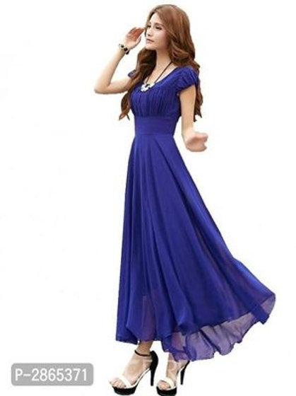Georgette Maxi Length Dresses
