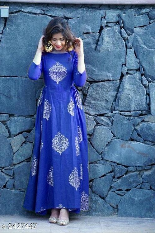 Cinderella Ethnic Rayon Kurtis V 6