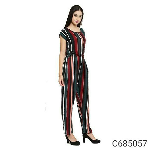 Women's Crepe Printed Jumpsuits