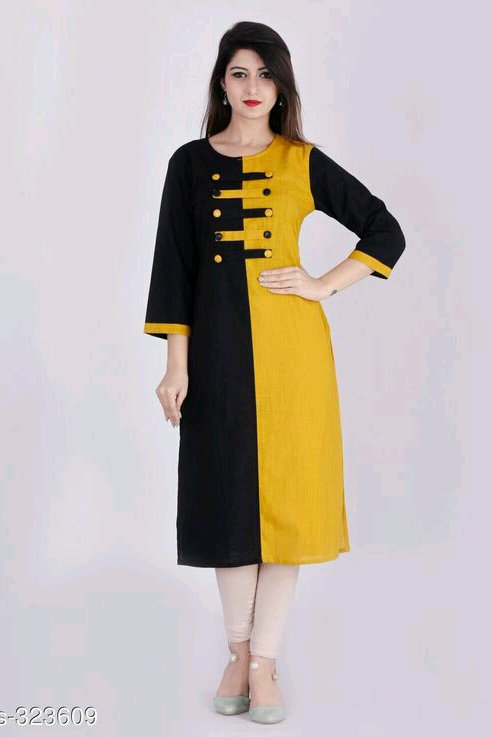 Color block Stylish Kurtis