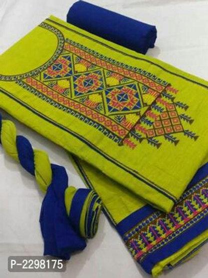 Aishwarya Style Elegant Cotton Dress Material