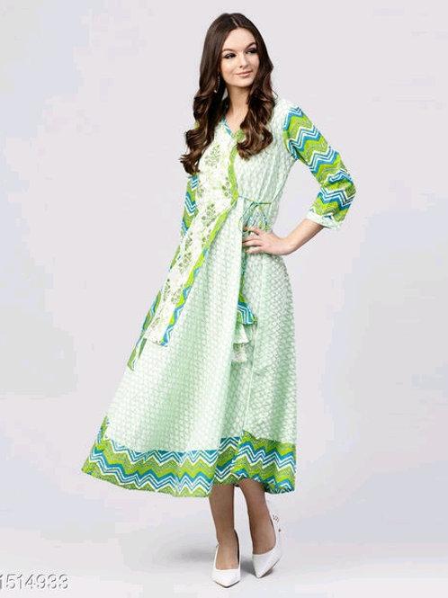 Alaska Voguish Designer Dresses V 3