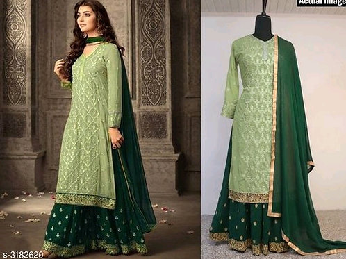 Attractive Trendy Faux Georgette Suits & Dress Materials V 5