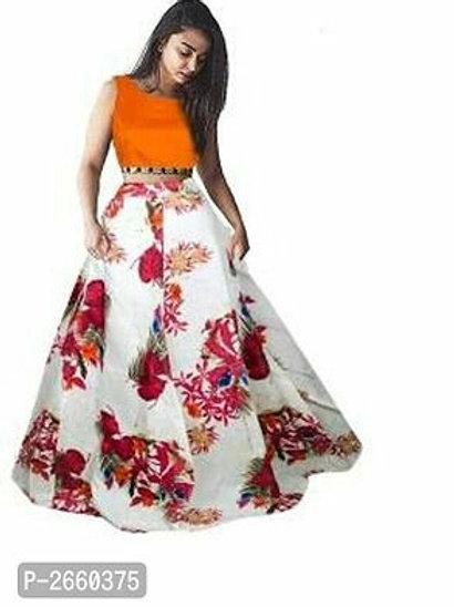 Floral Printed Lehenga For Women