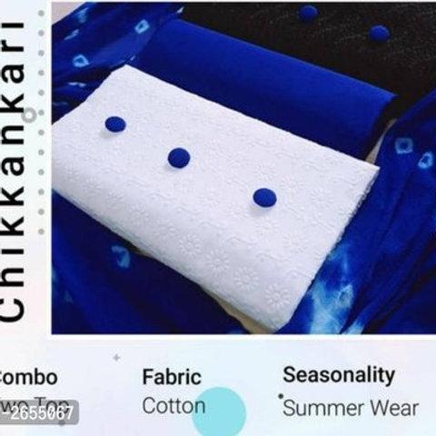 Aashka Classy Mirror Work Theme Kutch Cotton Suit