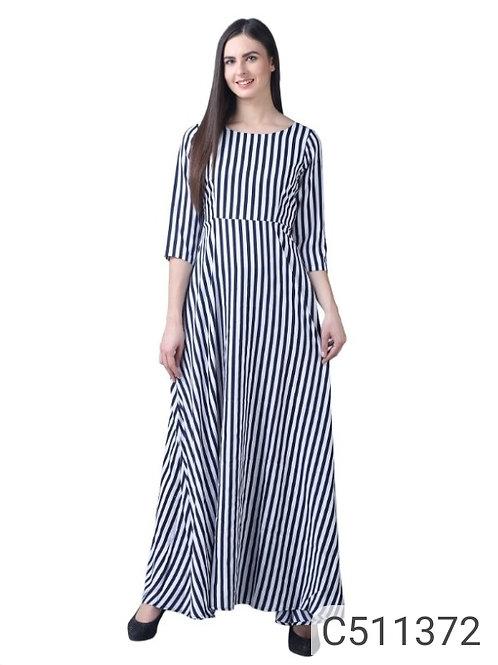 Women's Stunning Crepe Printed Dresses