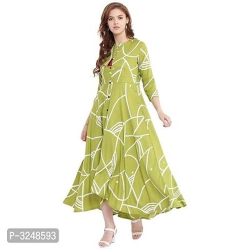 Ladies Stylish Rayon Flared Dresses