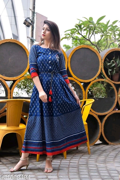 Aradhya Stunning Cotton / Rayon  Women's Kurtis V 4