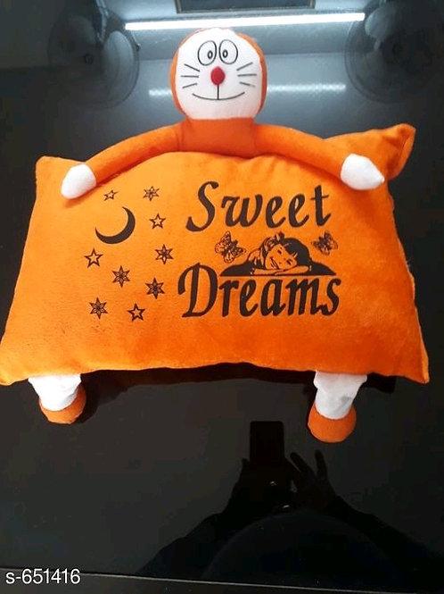 Cartoon Shaped  Baby Velvet Printed Pillows