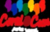 Logo CoralCun color  letras blancas chic