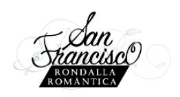 logo rondalla San Francisco fondo blanco