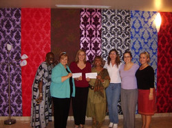 first AZ GNO to Cut Out Domestic Abuse at Dolce Salon