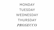 Prosecco Friday's