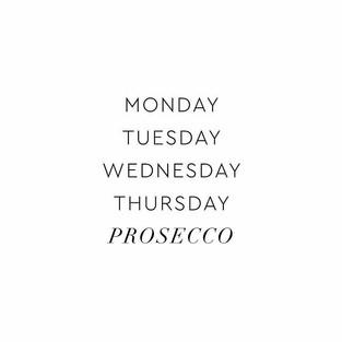 Prosecco Friday's