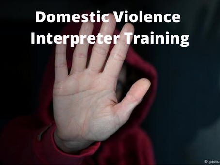 Domestic Violence - Interpreter Training