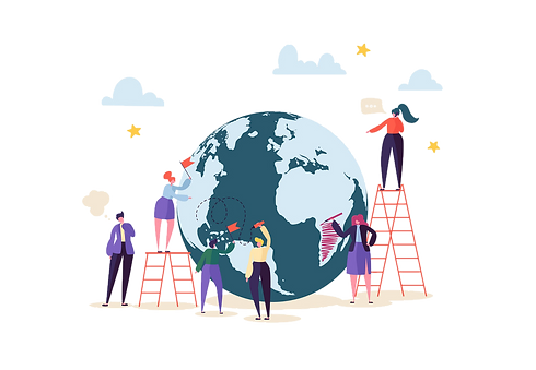 global-business-concept-with-characters-