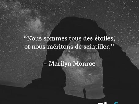 Juste parce que je suis fan de Marilyn !