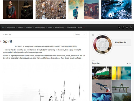 Spirit on fubiz.net
