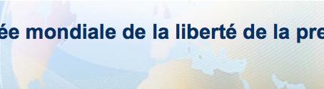 Journée mondiale de la liberté de la presse ...