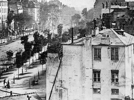 Un peu d'histoire : Le boulevard du Temple, la première photo où apparaît un humain ?