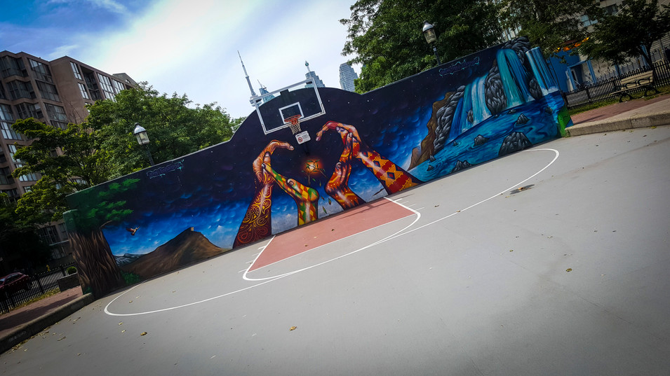BB court-Toronto,CA