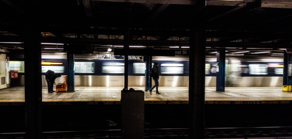 missed the train-NYC