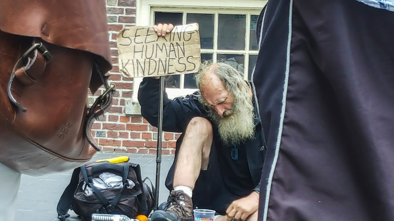 Seeking Human Kindness-Boston