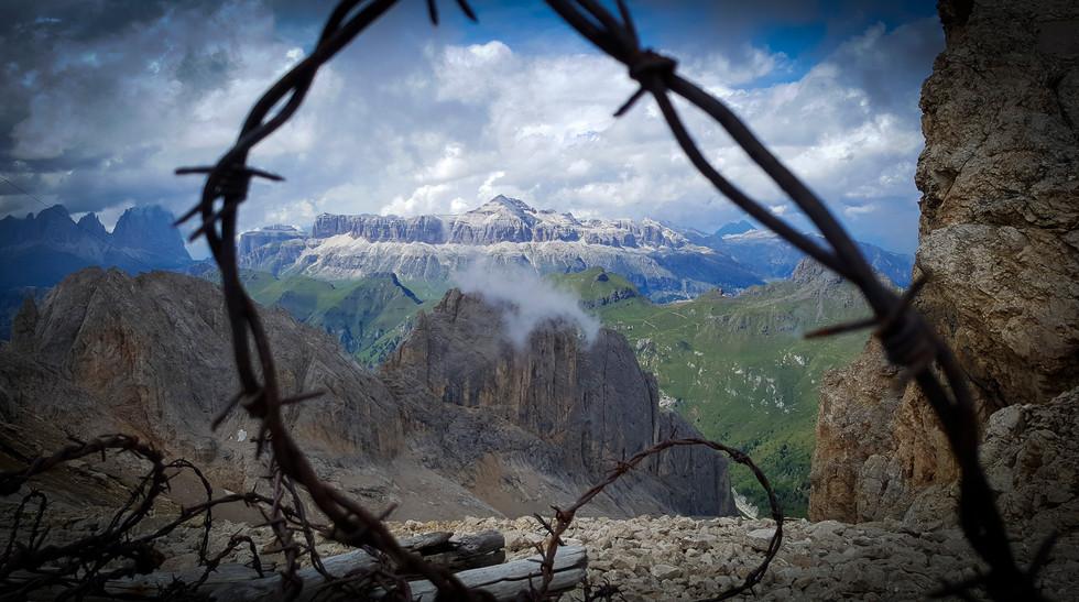 Marmolada WW2 refuge-Dolomiti,IT