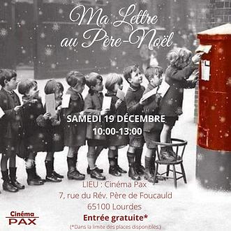 Ma lettre au Père-Noël Pax
