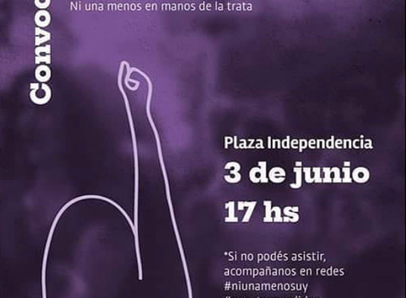 Nos movilizamos en contra de la trata y la explotación sexual 3/06