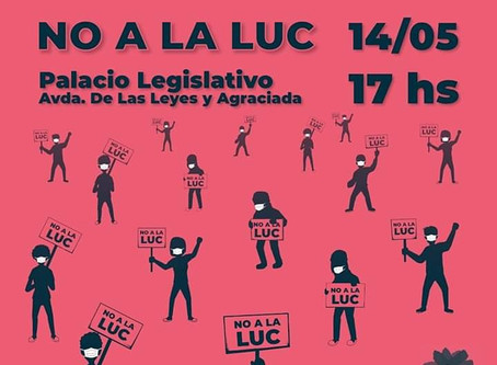 Movilización NO a la LUC 14/05/2020