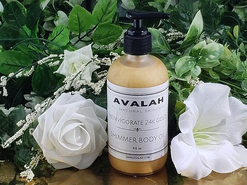 Reinvigorate Golden Shimmer Body Oil