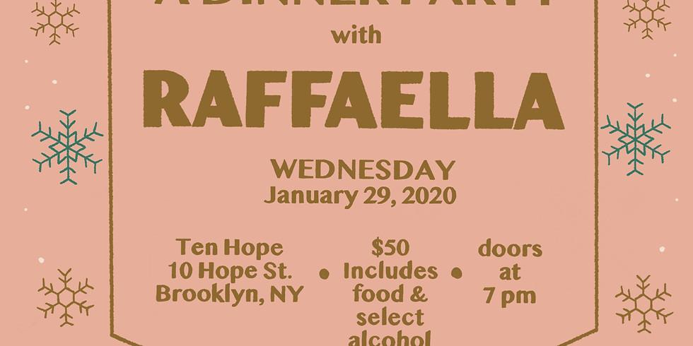 A Dinner Party with Raffaella