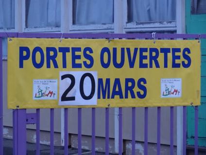 PORTES-OUVERTES  - REPORT