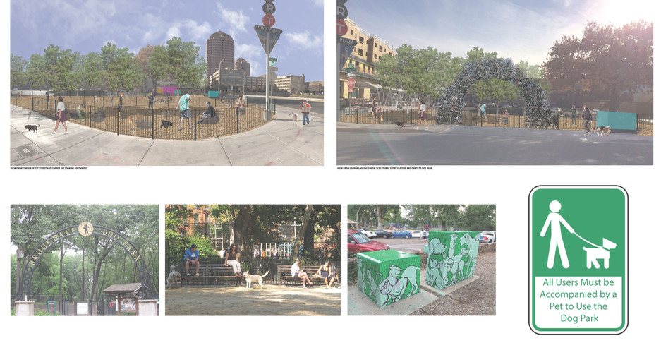 Downtown ABQ Dog Park Concepts_Perspective