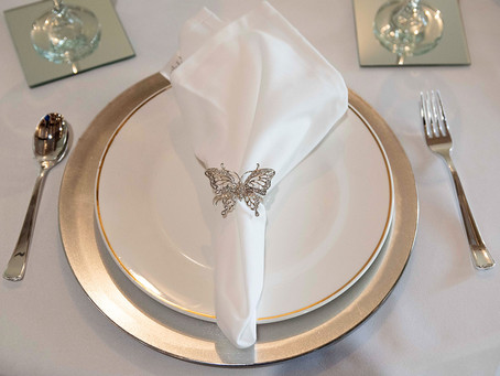 Our Butterfly Napkin Rings Arrived!! They are even better than expected...