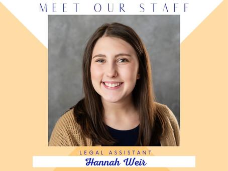 Meet Hannah...
