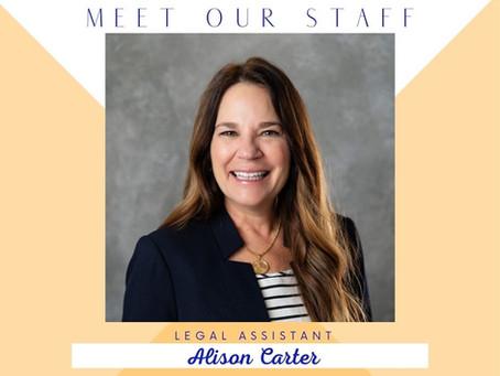 Meet Alison...