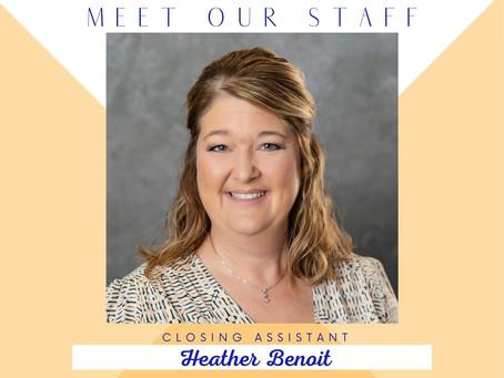 Meet Heather...