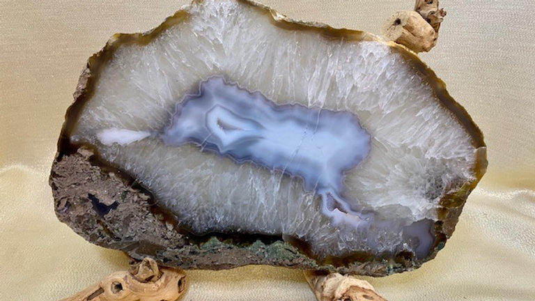 Portal of Light - Agate Slice