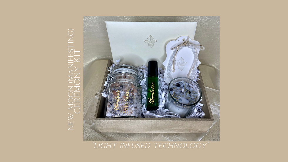 New Moon Manifesting Ceremony Kit