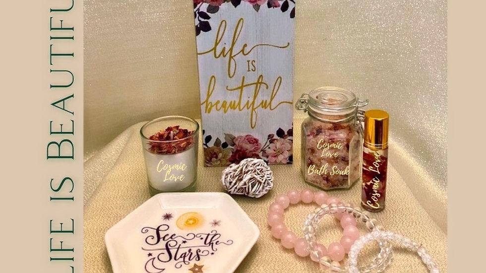 Life is Beautiful Gift Basket