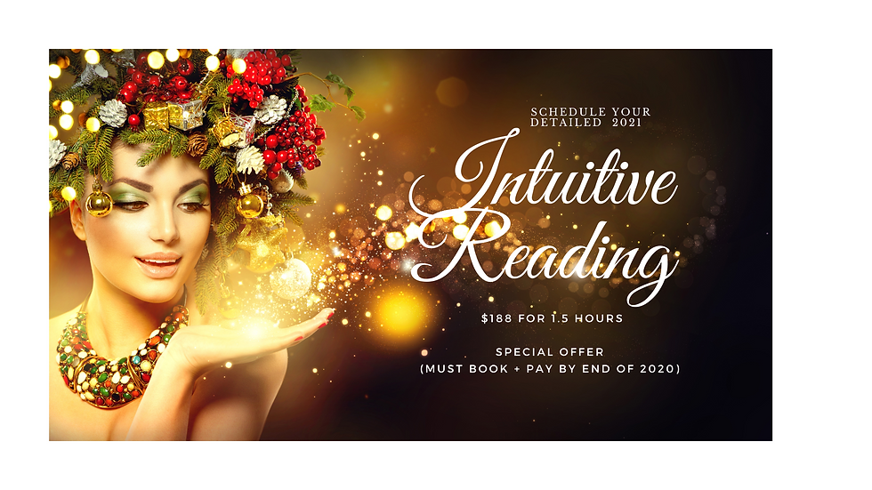 2021 Special Intuitive Reading
