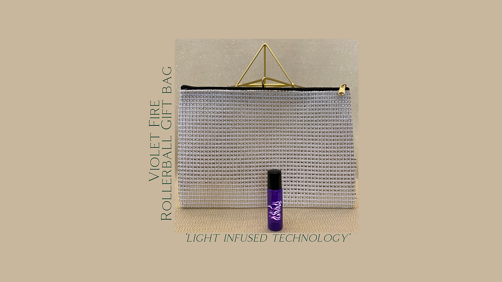 Violet Fire Rollerball Gift Bag