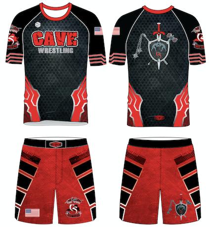 Cave Spring Shirt/Shorts Combo