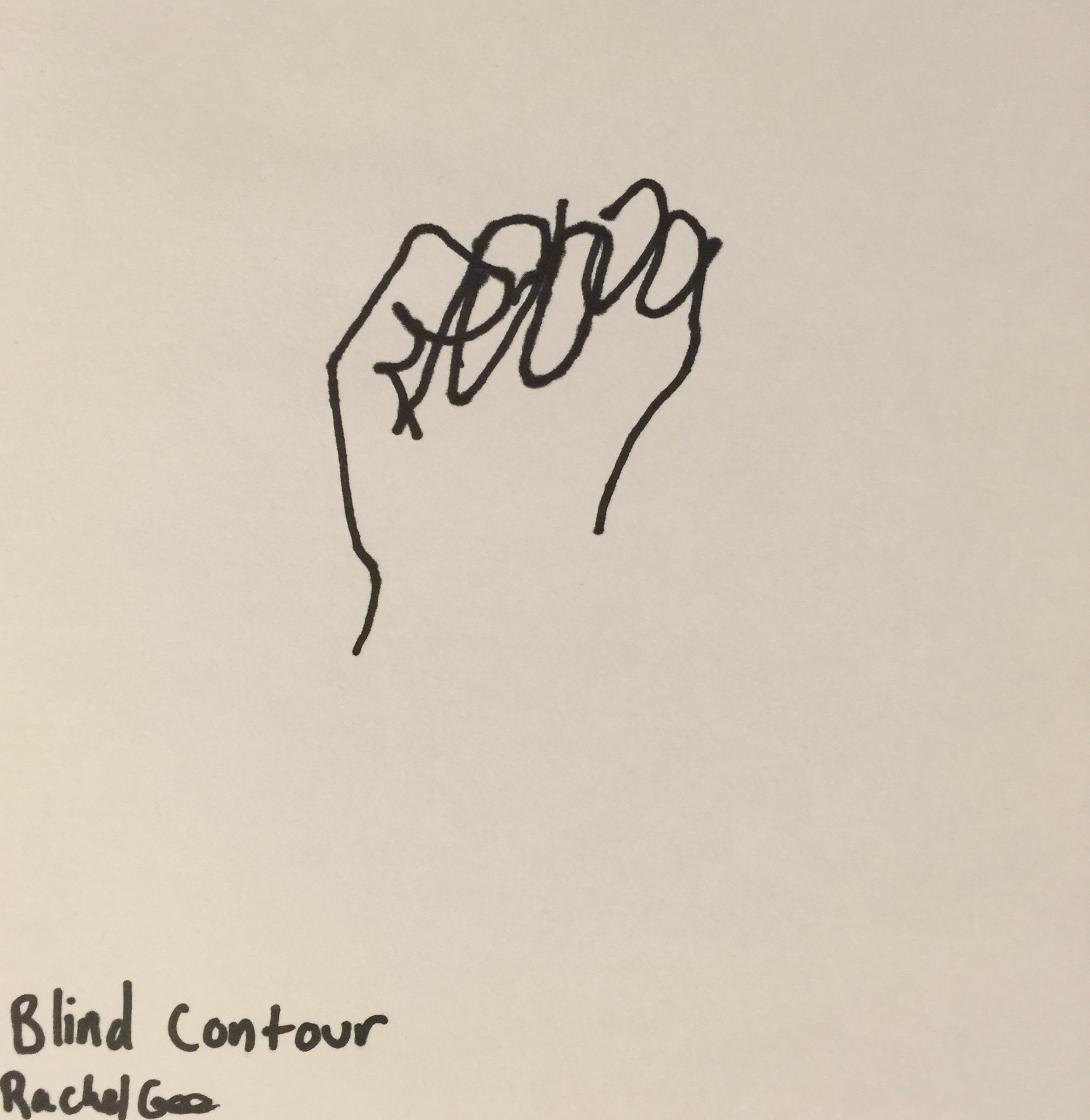Blind Contour